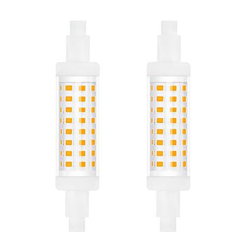 5W R7S LED Lampe Birne 78MM Kaltweiß 6000K Bonlux Leuchtmittel Ersatz für 50W...