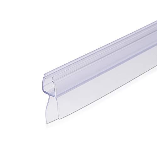 Navaris Schwallschutz Duschdichtung Duschkabine 45° - für 6mm dicke Glas...