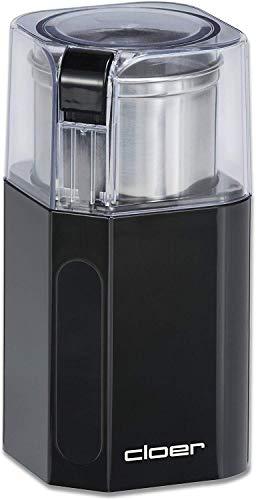 Cloer 7580 Elektrische Kaffee-und Gewürzmühle, 200 W, für Pesto, Nüsse und...