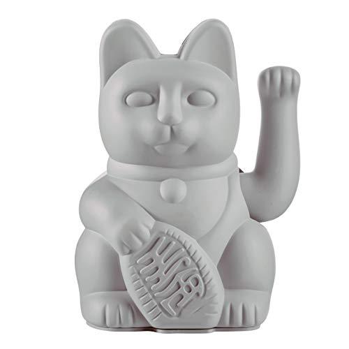 Donkey Products - Lucky Cat Grey - graue Winkekatze | Japanische Glücksbringer...