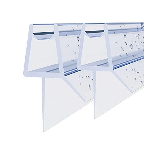 STEINHIRSCH Duschtürdichtung 2 x 50 cm Für Duschtüren Duschkabinen...