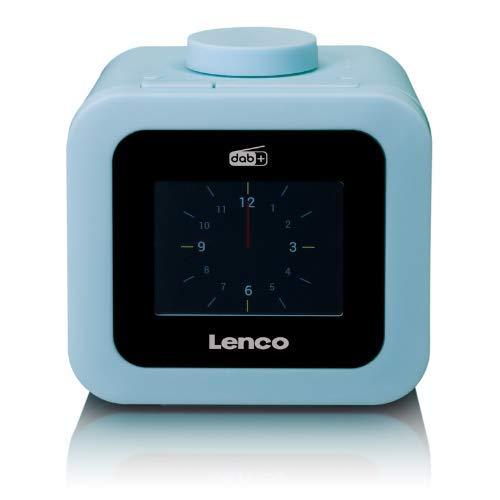 "Lenco CR-620 DAB+ Uhrenradio - Radiowecker mit 3"" TFT Farbdisplay - PLL FM -..."
