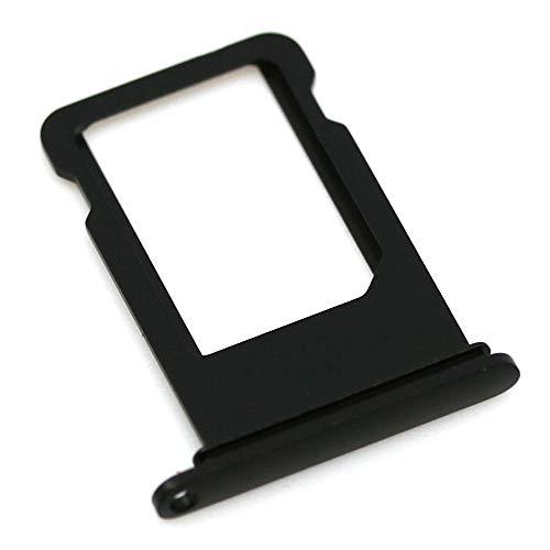 SIM-Kartenhalter passend für Apple iPhone 7 Plus Schwarz Matt Halter Tray...