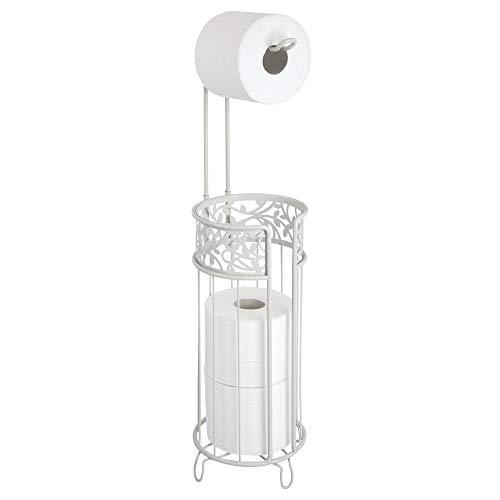 mDesign Toilettenpapierhalter stehend – moderner Papierrollenhalter fürs...