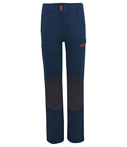 Trollkids Kinder Trekking Hose Hammerfest Slim Fit, Marineblau, Größe 128