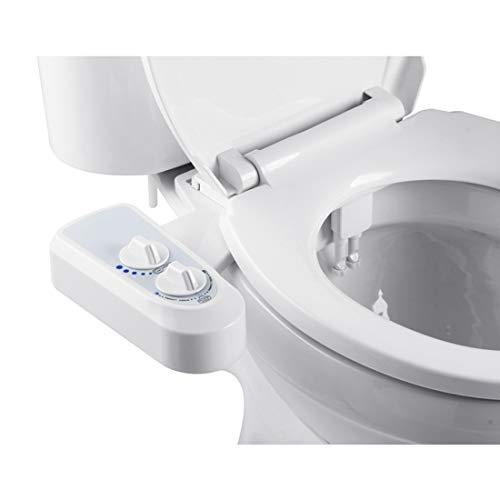 Dusch WC Aufsatz Doppeldüse Deluxe Comfort Bidet zur optimalen Intimpflege Mit...
