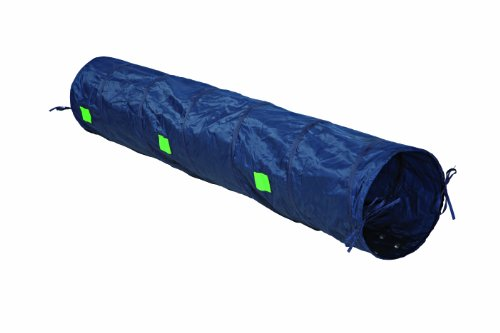 Trixie 3210 Dog Activity Agility Tunnel, ø 40 cm/2 m, blau