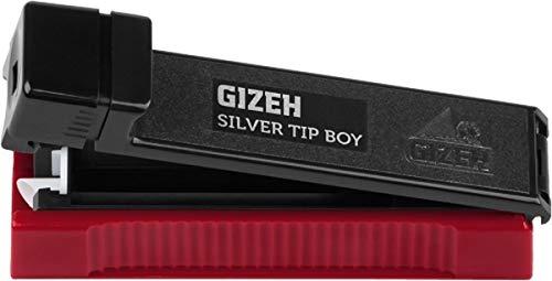2x GIZEH Silver Tip Boy Stopfmaschine Zigarettenstopfer