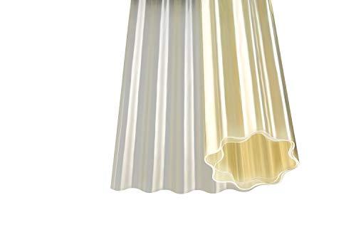 Polyester Wellbahn natur transparent Kurzrollen (5000 x 1500 mm)