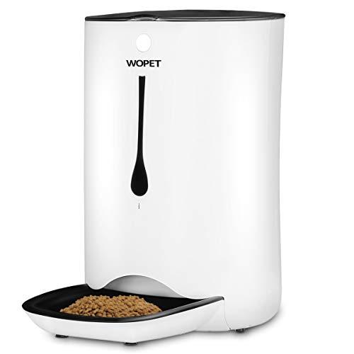 WOPET 7L Futterautomat Automatisch Futterspender Pet Feeder für Katze und Hund...