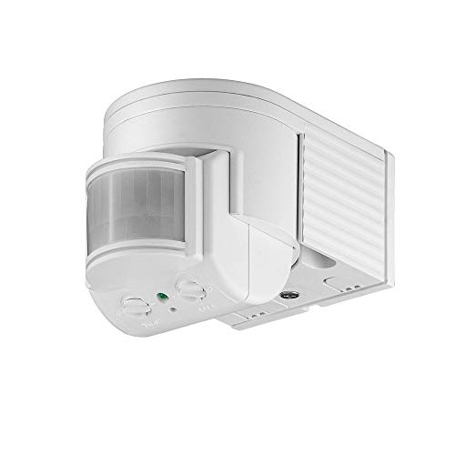 goobay Infrarot Aufputz-Bewegungsmelder für Innen- und Außenbereich - 180°...