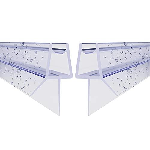 STEINHIRSCH Ersatzdichtung Duschdichtung 2x 60cm für 5mm 6mm (Zweier-Pack)...