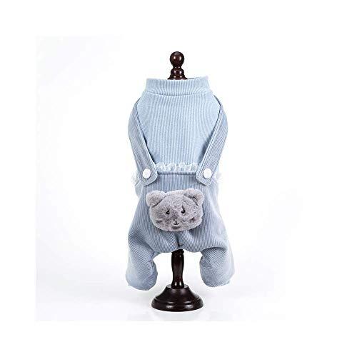 Hsheng Puppy Kleidung Herbst Und Winter Haustier Kleidung Sowie Samt Dicken...
