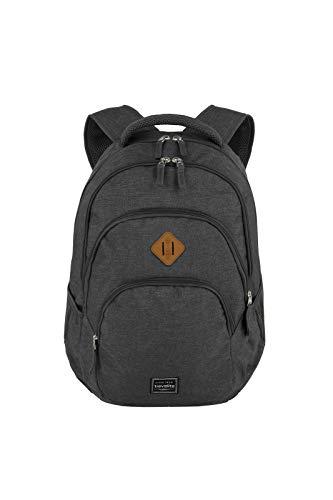 travelite Rucksack Handgepäck mit Laptop Fach 15,6 Zoll, Gepäck Serie BASICS...
