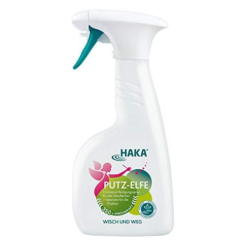 HAKA Putz-Elfe Glasreiniger I 500ml Universalreiniger zur Reinigung von Fenster,...