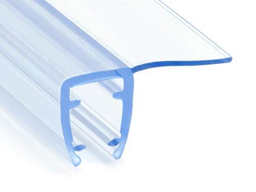 DQ-PP Duschdichtung 200cm | Dichtung für 3,5mm – 5mm Glastür Stärke | UK01...