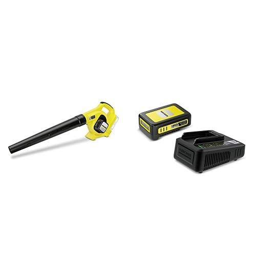 Kärcher Akku-Laubbläser LBL 2 Battery Starter Kit (Akku: 18 V / 2,5 Ah, 18 V...