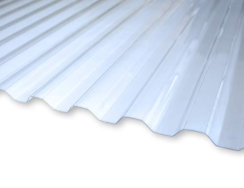 KAISER plastic® Wellplatte | Xtra Strong (PC) | glatt und klar | Trapez...