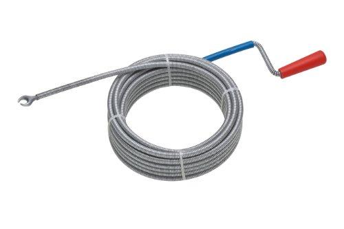 Meister Rohrreinigungswelle Ø 6 mm x 3 m - Flexible Spirale mit Kralle -...