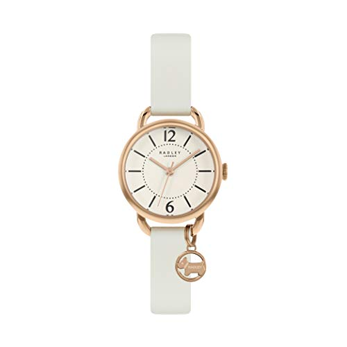 Radley Radley RY2984 Damen Armbanduhr, Kreide-Lederband, Kreide-Anhänger