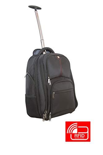 Verbatim Rucksack mit Rollen, Trolley Backpack für Notebooks bis 43,2 cm (17...