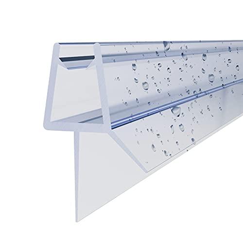 STEINHIRSCH Duschtürdichtung 2 x 120 cm Dichtung Für Duschtüren Duschkabinen...