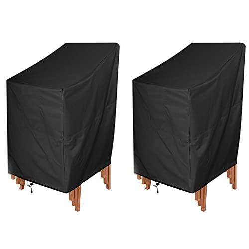 2 STK Gartenstühle Abdeckung,Stuhlabdeckung Wasserdicht,Abdeckhaube...
