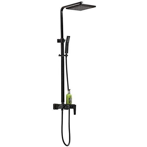 OKSS Duschsystem Mit Hochdruck-Regenduschkopf Andheld Duschkopf Und Wasserhahn...