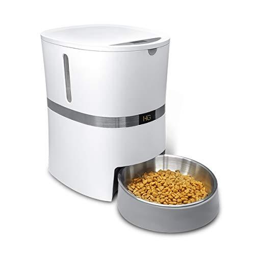HoneyGuaridan A36 Automatischer Futterautomat für Hunde und Katzen mit...