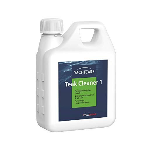 Yachtcare Teak Cleaner 1L - leistungsfähiger Spezialreiniger für verschmutzte...