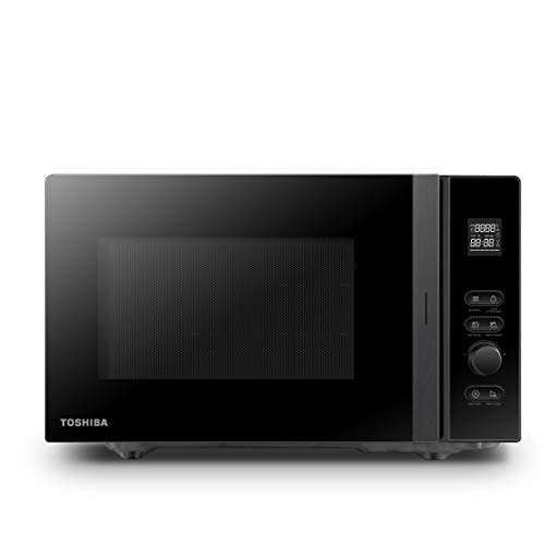 Toshiba MV-AM20T(BK) Mikrowelle/Solo-Mikrowelle/ 20 L/ 800 W/ 5 Leistungsstufen/...
