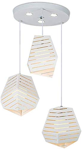 Houguiyuan Kristall-Kronleuchter Hängelampe Einfache Moderne LED-weiße...