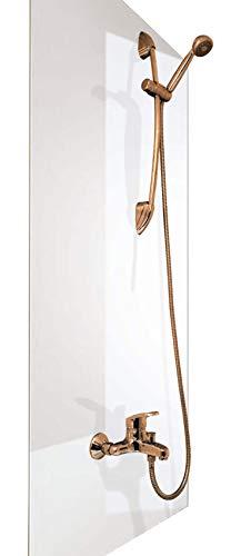 Wasserfeste Duschrückwand als Wandverkleidung 100 x 200 cm (BxL) - PVC...