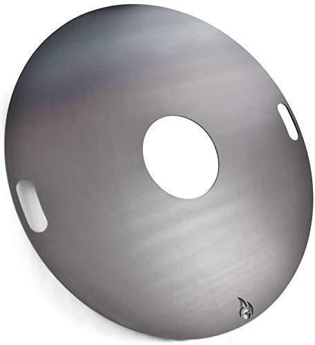 Feuerplatte   Grillring   Grillplatte   Plancha - Universalgröße für...