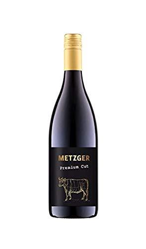 Metzger Premium Cut 2016 Pinot Noir QbA Rotwein trocken 0,7 Liter