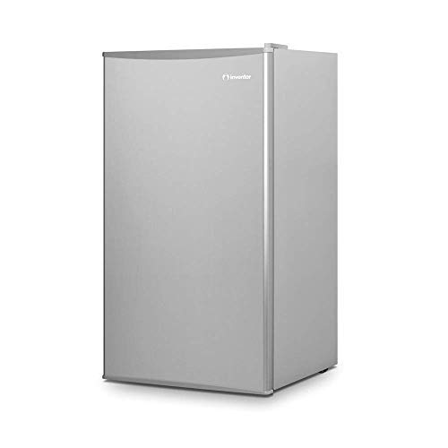 Inventor Mini-Kühlschrank 93L, Energieklasse A ++, Farbe Silber, leise ideal...
