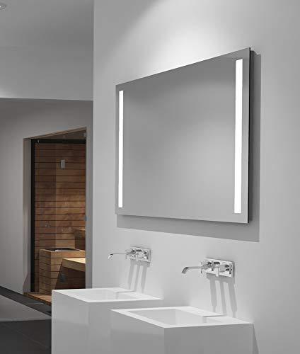 LED Badspiegel Talos Light 100x 70 cm– Lichtfarbe 4200K –  Modernes Design...