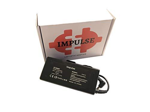 Impulse 90W 65W Netzteil - mit 5,5 x 1,7 mm Stecker - Ladekabel für Acer Aspire...