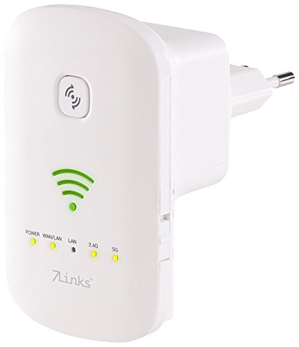 7links WiFi Booster: Dualband-WLAN-Repeater, Access Point & Router, 1.200...