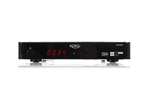 Xoro HRS 8820 IP Digitaler Satelliten-Receiver (HDTV, DVB-S2, CI/CI+ Schacht,...