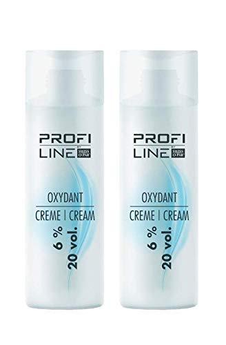 Profiline Cremeoxyd 200ml Oxydant 6% 2 Stück