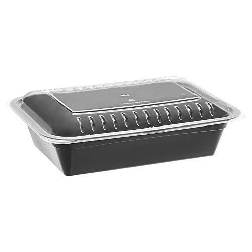 AmazonBasics – Frischhaltedosen mit 1 Fach, BPA-frei, geeignet für...