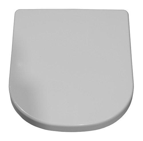 Geberit WC-Sitz iCon weiß mit Absenkautomatik-Deckel und Befestigung aus...
