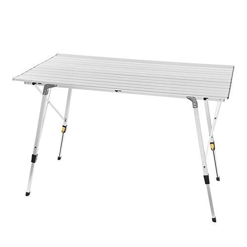 WOLTU CPT8132sb Alu Campingtisch klappbar Falttisch mit Tragetasche, Aluminium...