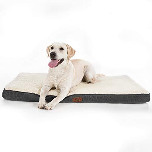 Bedsure Hundekissen/Hundematratze für kleine mittlere große Hunde,...