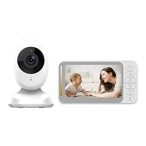 Baby-Monitor, 4,3 '' Video-Baby-Monitor mit Kamera und Audio, 2 Kameras...
