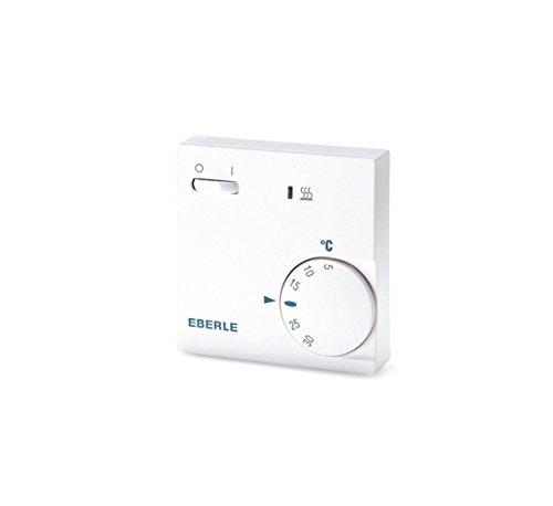 EBERLE 111110451100 Eberle RTR - E 6202 Raumtemperaturregler mit Netzschalter...