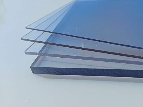 Polycarbonat Platte farblos 1000 x 600 x 0,75 mm transparent Zuschnitt PC...