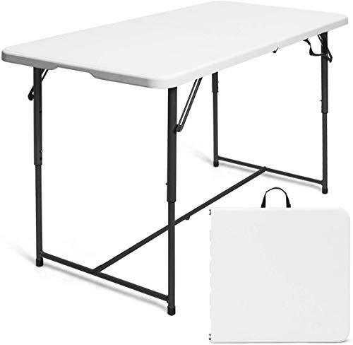 Nestling® 120x62x76cm Terrasse und Balkon - Kunststoff Tisch Klapptisch gut...