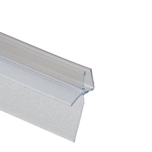 Schulte D2973 Dichtung für Duschabtrennung, transparent, 120 cm